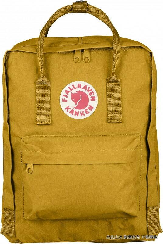 Fjallraven 瑞典北極狐 Kanken Mini 迷你瑞典書包/空肯包/方型後背包 23561 160 赭黃