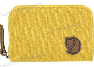 Fjallraven 瑞典北極狐 名片夾/零錢包/票夾/信用卡夾/皮夾 Zip Card Holder 24218-160 赭黃
