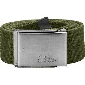 Fjallraven 瑞典北極狐 帆布腰帶/皮帶/軍裝腰帶 Canvas Belt 77029-620 綠色