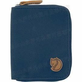 Fjallraven 瑞典北極狐 皮夾/錢包/短夾 Zip Wallet 瑞典狐狸復古拉鍊皮夾 24216-560 海軍藍
