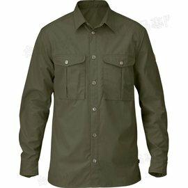 Fjallraven 瑞典北極狐 耐磨襯衫/長袖襯衫/登山襯衫/旅遊/穿搭 Greenland Shirt 男 G-1000 81378-246 暗棕綠