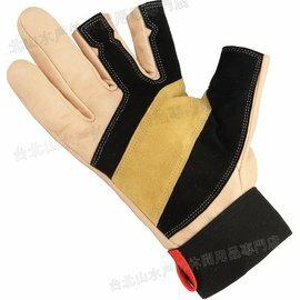 Grivel 露指手套/皮革工作手套/垂降手套/確保手套 RTFERGLO 耐磨羊皮