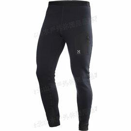 [ HAGLOFS ] Bungy II Tight 瑞典 彈性保暖刷毛長褲/保暖緊身褲/Polartec Power Stretch/男款 602372