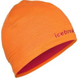 [ Icebreaker ] 頂級高山美麗諾羊毛 Merino 保暖帽/毛帽 Mogul Hat IBM450 G54 橘色