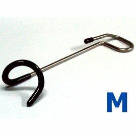 [ JIA-LORNG 嘉隆 ] 不鏽鋼營燈掛勾 燈勾 燈鉤 迴鉤 M號(適用19~22mm營柱)