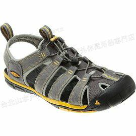 [ KEEN ] 涼鞋/運動涼鞋/護趾涼鞋/拖鞋 Clearwater Cnx 男 1009036 灰