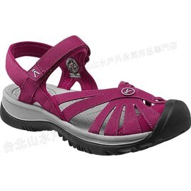 零碼特價[ KEEN ] 涼鞋/運動涼鞋/護趾涼鞋/拖鞋 Rose Sandal 女 1012545 酒紅灰