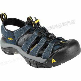[ KEEN ] 涼鞋/運動涼鞋/護趾涼鞋/拖鞋 Newport H2 男 1001938 深藍