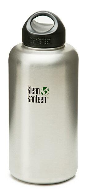 [ Klean Kanteen ] 64oz / 1893ml 原色版 寬口 不鏽鋼水瓶 水壺 可利鋼瓶