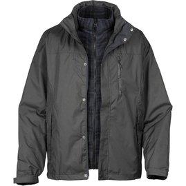 六折特價Lafuma 防水外套/兩件式雪衣/保暖大衣 男款 Donegal 滑雪/旅遊必備 LFV8518b-2599 深灰