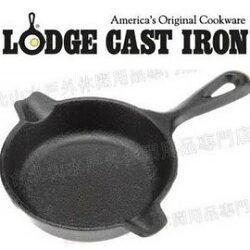 超值特賣 Lodge LAT3 Cast Iron Spoon Rest 鑄鐵小圓煎盤/迷你荷蘭鍋/鑄鐵菸灰缸/置勺架/湯匙架