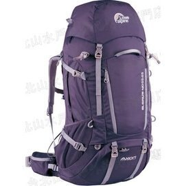 [ Lowe Alpine ] Elbrus ND55:65 女款 登山背包/大背 55-65升 得獎Axiom可動式背負系統 FBP70-AU 茄紫