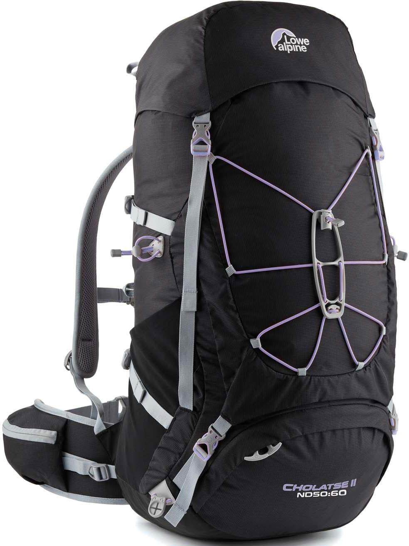[ Lowe Alpine ] Cholatse II ND 50:60 女款 登山背包/大背包 50-60 升 FMP29 黑