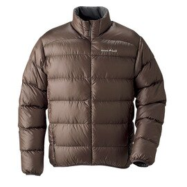 [ Mont-Bell ] Light Alpine 800FP 高保暖超輕鵝絨 羽絨外套/羽絨衣 男款 1101359-BTUB 深褐 montbell