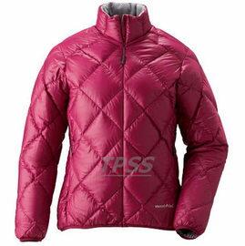 [ Mont-Bell ] Light Alpine 800FP 高保暖超輕鵝絨 羽絨外套/羽絨衣 女款 1101360-RUB 寶紅色 montbell