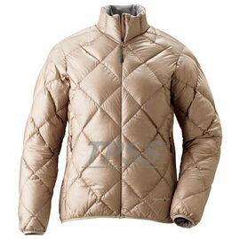 [ Mont-Bell ] Light Alpine 800FP 高保暖超輕鵝絨 羽絨外套/羽絨衣 女款 1101360 PKBG 米白色 montbell
