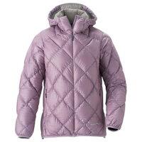 保暖服飾推薦零碼特價 Mont-Bell Light Alpine 800FP 高保暖超輕鵝絨 連帽羽絨外套/羽絨衣 女款 1101362-LCGY 粉紫色