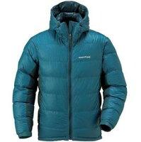 保暖服飾推薦Mont-Bell 頂級鵝絨800FP BOX 立體隔間 連帽羽絨衣 羽毛衣 雪衣 男款 1101407 DMD 藍 montbell