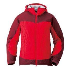 [ Mont-Bell ] Exceloft 人造羽毛/雪衣/化纖連帽保暖外套 女款 1101325 GA/VE 紅色 montbell