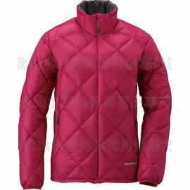 Mont-Bell Light Alpine 800FP 高保暖超輕鵝絨 羽絨外套/羽絨衣 女款 1101429-CHRD 櫻紅 montbell