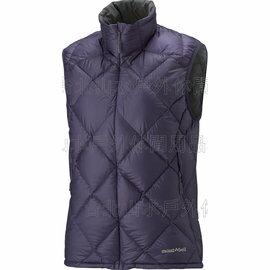 [ Mont-Bell ] Light Alpine 800FP 高保暖超輕鵝絨 羽絨背心/羽毛背心 女款 1101433-EP 深紫 montbell