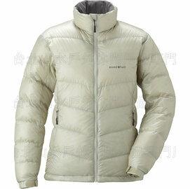 [ Mont-Bell ] Alpine 800FP 高保暖超輕鵝絨羽絨外套/羽毛衣 女款 1101427-IV 象牙白 montbell