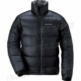 Mont-Bell Alpine 800FP 高保暖超輕鵝絨羽絨外套/羽毛衣 男款 1101426-BK 黑色 montbell