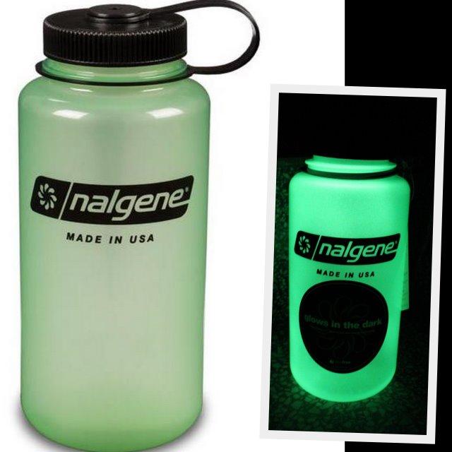 [ Nalgene ] 寬嘴水壺 Tritan 1000cc 美國製 2178-2031 夜光綠