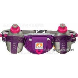[ NATHAN ] Trail Mix 雙水壺腰包/水壺腰帶/馬拉松慢跑腰包 單車/馬拉松/三鐵/路跑/健身 NA4625NIP 紫色