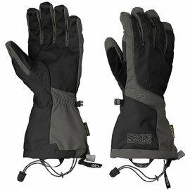 Outdoor Research 雙層防風防水保暖手套/二合一滑雪手套/Gore-Tex Arete 男款 243358 0189 灰黑