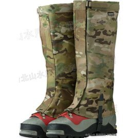 [ Outdoor Research ] 美國製 軍規迷彩鱷魚綁腿 Gore-tex Multicam Expedition Crocodiles 61551