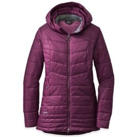 [ Outdoor Research ] BREVA PARKA 女保暖化纖長大衣/可拆連帽外套 PrimaLoft 97777 423紫紅