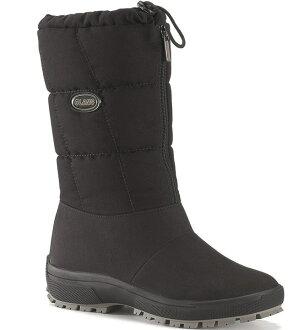 Olang 防水雪鞋/保暖雪靴/出國/旅遊/賞雪 Cindy女款 OL-1501W 歐洲製造 黑