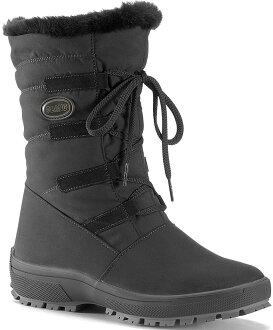Olang 防水雪鞋/保暖雪靴/出國/旅遊/賞雪 Nora tex 女款 OL-1402W 歐洲製造 黑