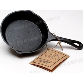 Old Mountain 鑄鐵煎盤/平底鍋/迷你焗烤盤/煎餅盤/鑄鐵/Lodge可參考 6.5吋 10101