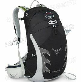[ Osprey ] Talon 22 透氣輕量背包/登山背包 黑