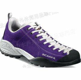 [ Scarpa ] Mojito 山系休閒鞋/越野鞋 yama風穿搭/麂皮 32605-petunia 花紫