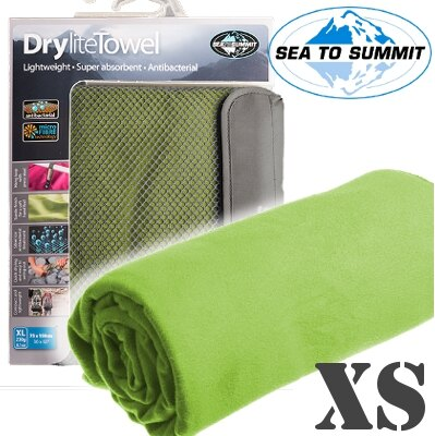 [ Sea to Summit ] Drylite Towel XS 抗菌快乾毛巾 萊姆