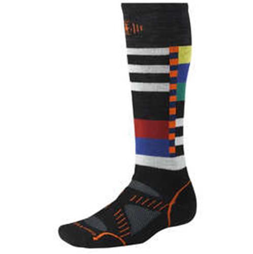 Smartwool 襪子/毛襪/保暖襪/滑雪襪 PhD Snowboard 美麗諾羊毛雪板襪 SW346 男款 厚版黑白/台北山水