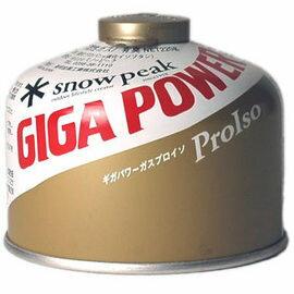 [ Snow Peak ] GP-250G 高效能金罐高山瓦斯 (220G) GigaPower Fuel 250 Gold