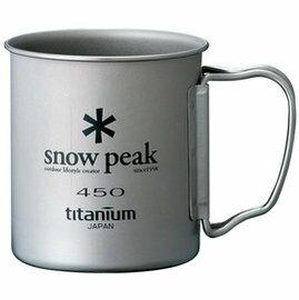 [ Snow Peak ] 鈦杯/登山杯/單層輕量鈦合金隨身杯 450ml MG-043R