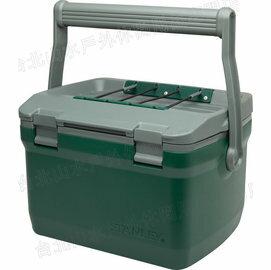 Stanley 保溫冰桶/野餐籃 6.6L 可攜水壺/便當/做椅子 Adventure Cooler 01622 綠/台北山水