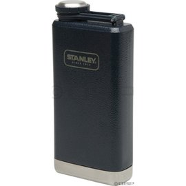 Stanley SS Flask 經典酒壺/美式復古軍用不鏽鋼水壺 01564 8oz/236ml 錘紋藍/台北山水