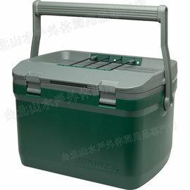 Stanley 保溫冰桶/野餐籃 15L 可攜水壺/便當/做椅子 Adventure Cooler 1001623 綠/台北山水