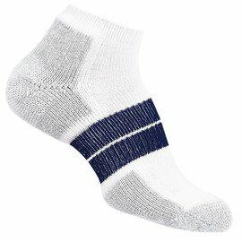 [ Thorlos ] 84N 跑步襪/路跑專用襪 舒適吸震加厚 得獎款 84NRCM 男款 白/深藍