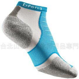 [ Thorlos ] EXPERIA 雪豹 超短筒運動襪/跑步襪 XCCU 216水藍
