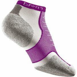 [ Thorlos ] EXPERIA 雪豹 超短筒運動襪/跑步襪 XCCU 220紫色