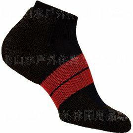 [ Thorlos ] 84N 跑步襪/路跑專用襪 舒適吸震加厚 得獎款 84NRCM 男款 黑/紅