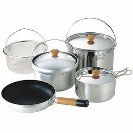 [ UNIFLAME ] FAN55 DX 4-5人份不鏽鋼鍋具組 U660232