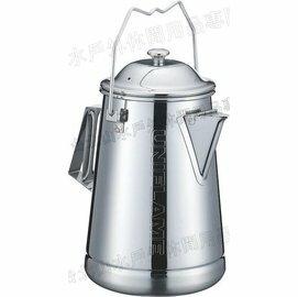 [ UNIFLAME ] 不鏽鋼水壺/露營水壺/茶壺 2.5L 18-8食品級不鏽鋼 日本製 燕三條 U660324